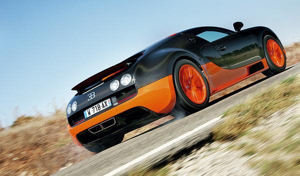 Bugatti Veyron 16.4 Super Sport trasera