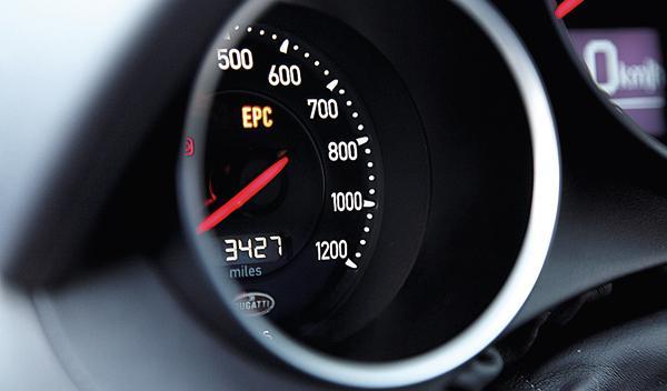 Bugatti Veyron 16.4 Super Sport interior