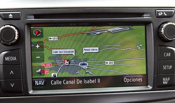 Toyota Yaris 2012 navegador
