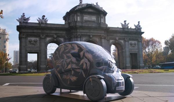 Renault Twizy Parade, en la Puerta de Alcalá