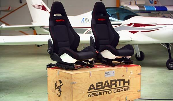 Asientos del Kit 'esseesse' de Abarth