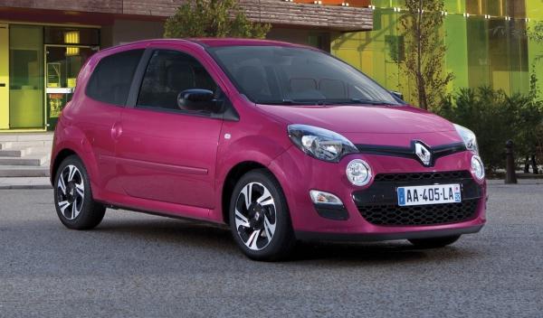 Frontal del nuevo Renault Twingo 2012