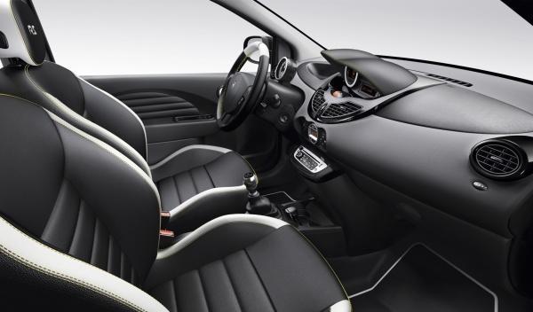 Interior del nuevo Renault Twingo 2012