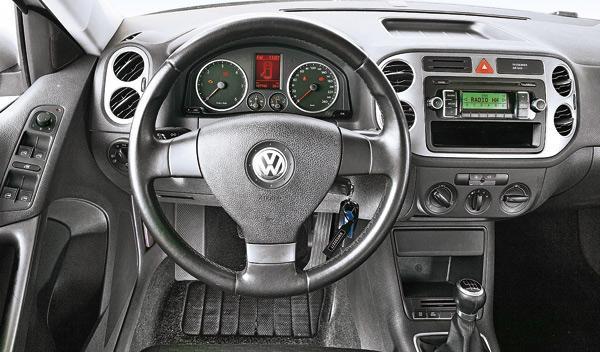 Volkswagen Tiguan 4x4 mandos