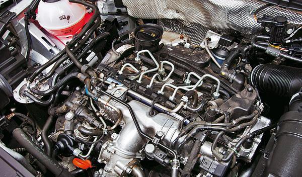 Volkswagen Tiguan 4x4 motor