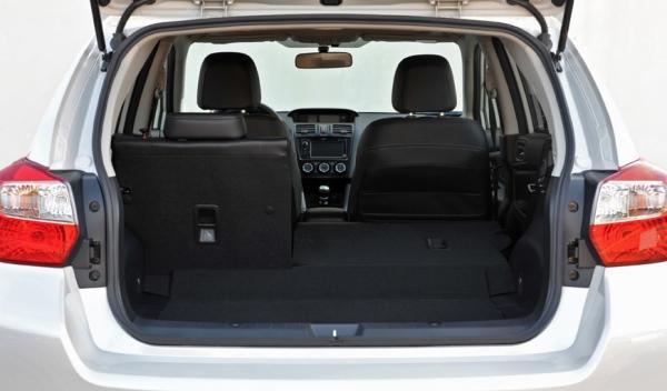 Subaru XV maletero