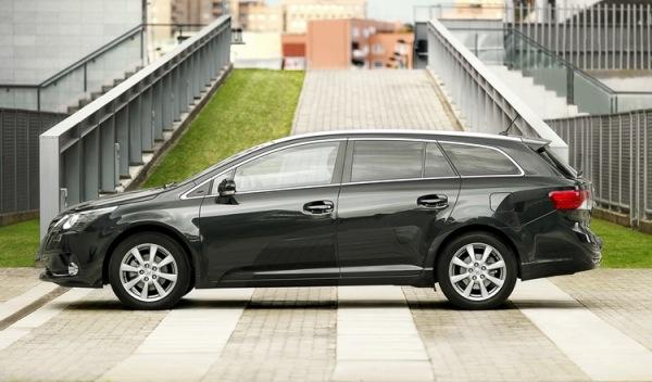 Lateral del Toyota Avensis Cross Sport