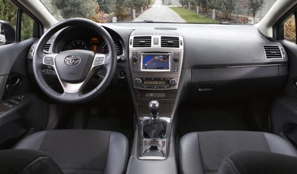 Interior del Toyota Avensis