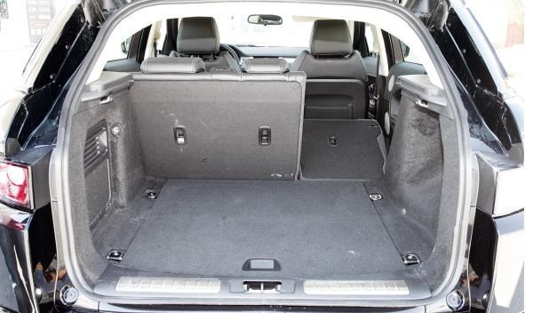 Range Rover Evoque 2.2 SD4 Dynamic Automático maletero