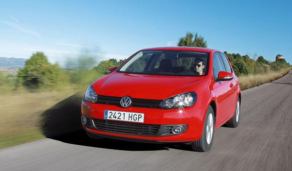 Delantera del Volkswagen Golf Rabbit