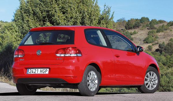 Trasera del Volkswagen Golf Rabbit