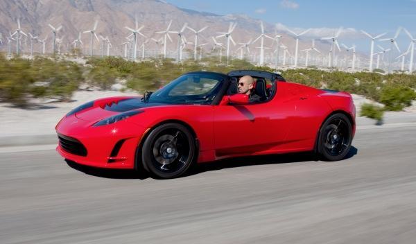 Tesla Roadster frontal