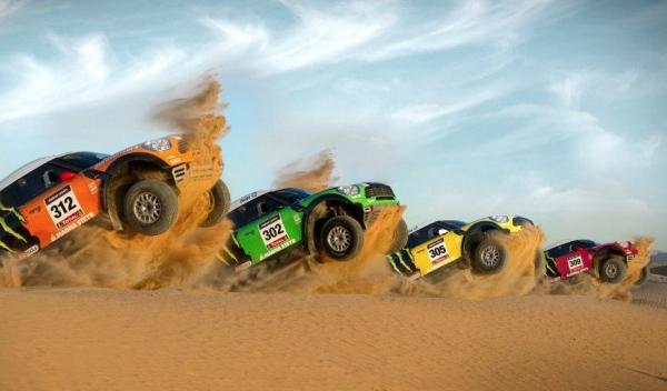 Dakar 2012 equipo Mini X-Raid