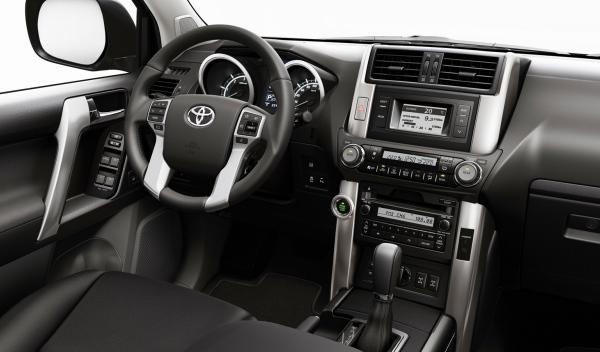 Toyota Land Cruiser 2012 salpicadero