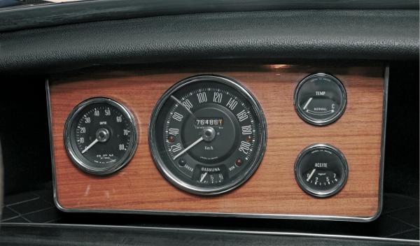 Mini Morris 1275C salpicadero