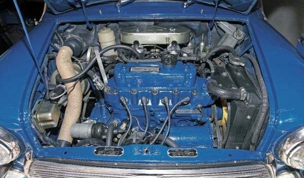 Mini Morris 1275C motor