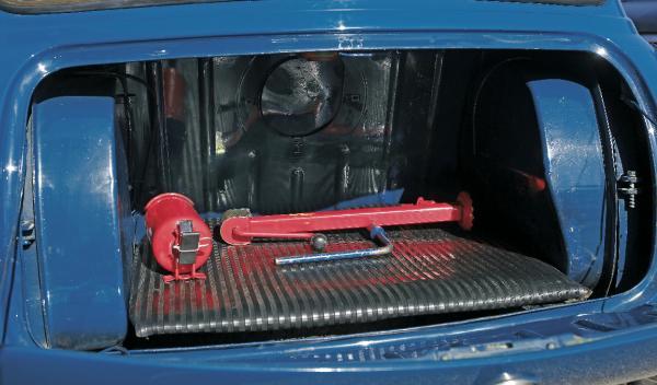 Mini Morris 1275C maletero