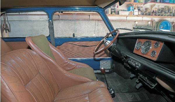 Mini Morris 1275C asiento