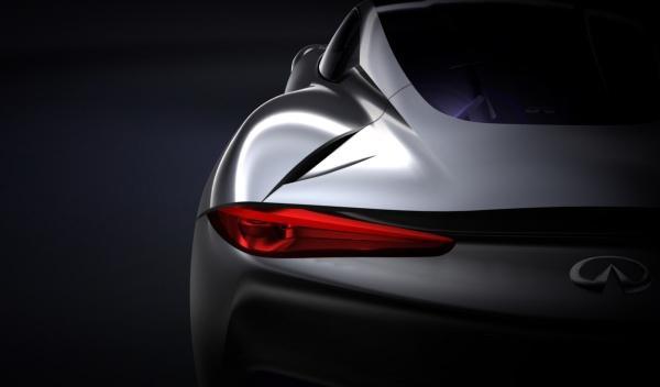 Trasera Infiniti concept deportivo eléctrico