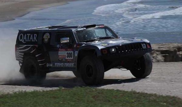 Dakar 2012 Al-Attiyah 300 Hummer