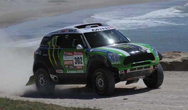 Dakar 2012 Stephane Peterhansel 302 Mini