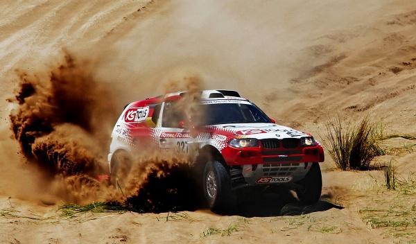 Dakar 2012 Schott Stephan 327 BMW segunda etapa