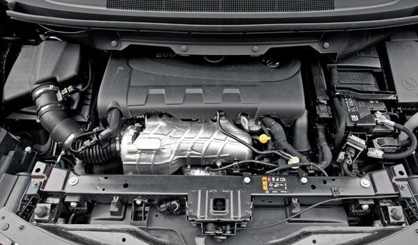 Motor 2.0 CDTi del Opel Zafira Tourer