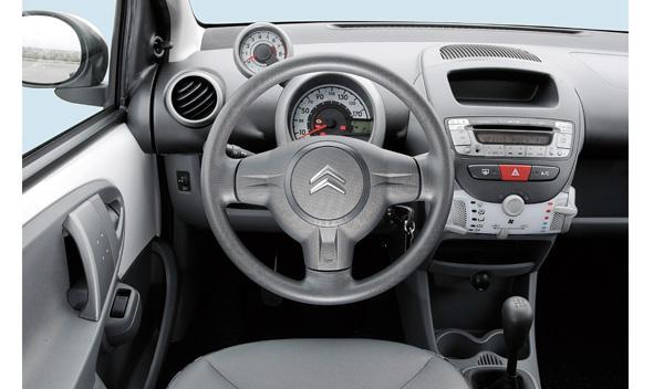 Interior del Citroën C1