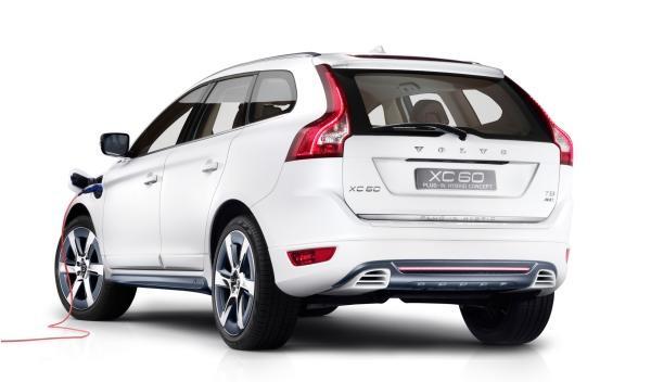 Trasera del Volvo XC60 Plug-in Hybrid Concept