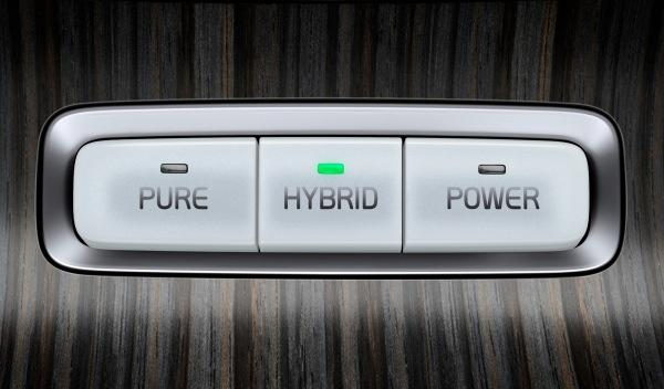 Modos de conducción del Volvo XC60 Plug-in Hybrid Concept