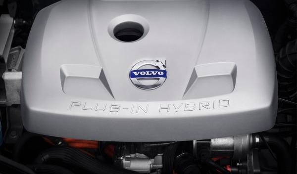 Motor del Volvo XC60 Plug-in Hybrid Concept