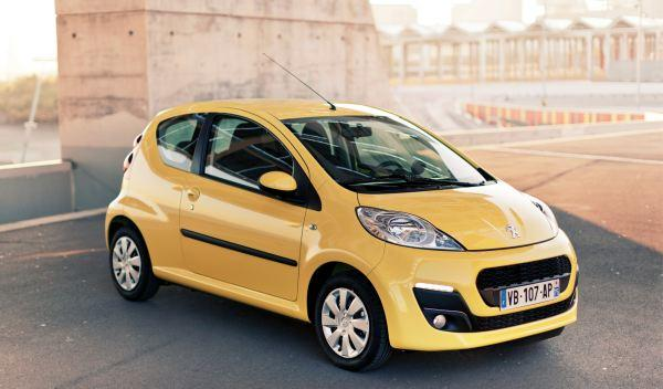 Peugeot 107 frontal
