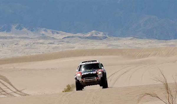 Dakar 2012 quinta etapa Holowczyc