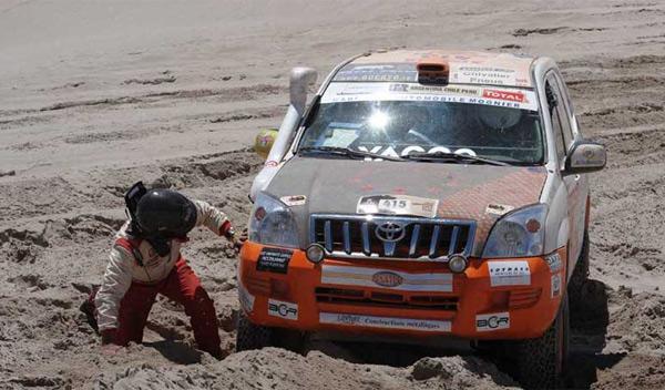 Dakar 2012 quinta etapa mognier