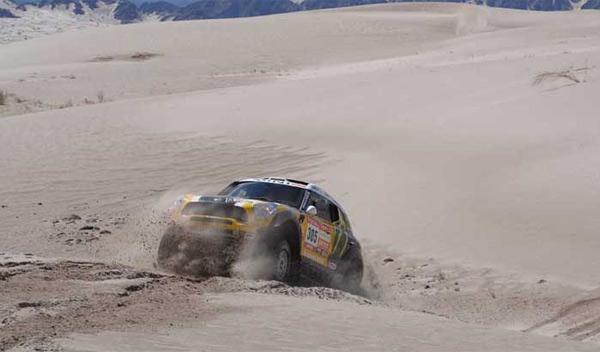 Quinta etapa del Dakar 2012