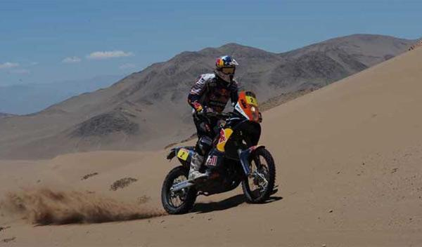 Dakar 2012 Séptima etapa cyril depres