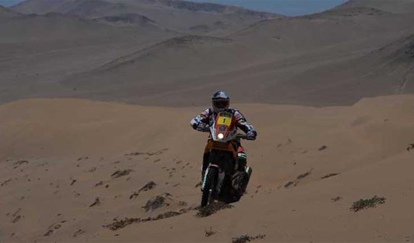 Dakar 2012 Séptima etapa marc coma