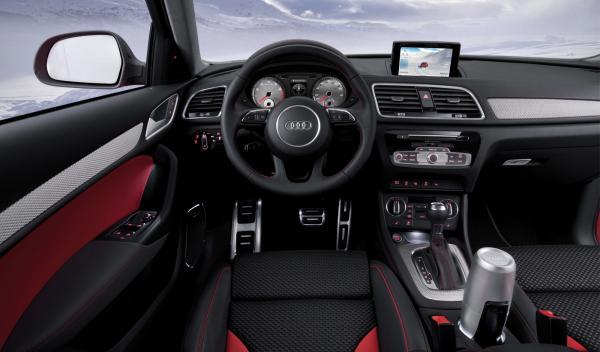 Audi Q3 Vail interior - Salón de Detroit 2012