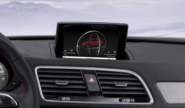 Audi Q3 Vail navegador - Salón de Detroit 2012