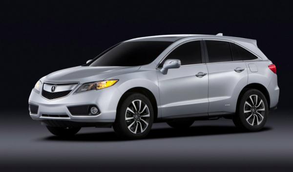Nuevo Acura RDX frontal Salón Detroit 2012