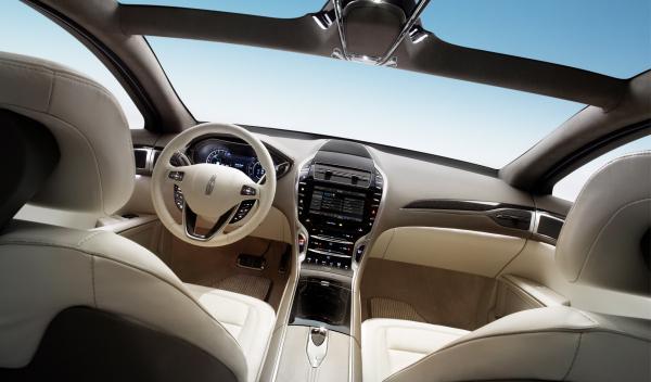 Lincoln MKZ Concept interior atmósfera