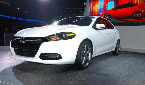 Dodge Dart SAlon detroit 2012