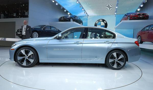 BMW ActiveHybrid 3 Salon detroit 2012