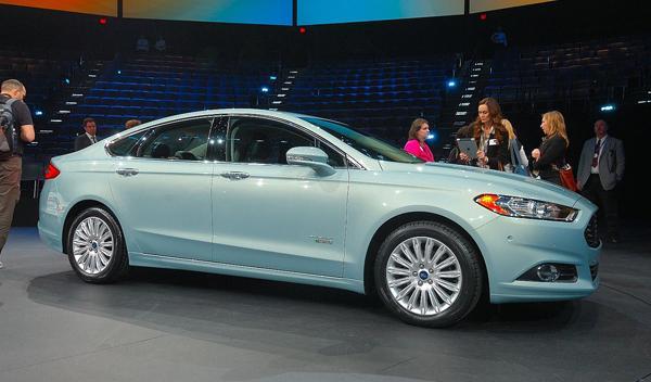 Ford Fusion nuevo mondeo salon detroit 2012