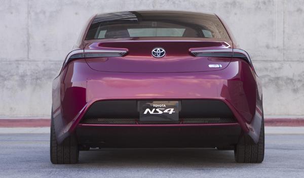 Toyota NS4 trasera Salón Detroit 2012