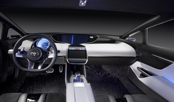 Toyota NS4 interior Salón Detroit 2012