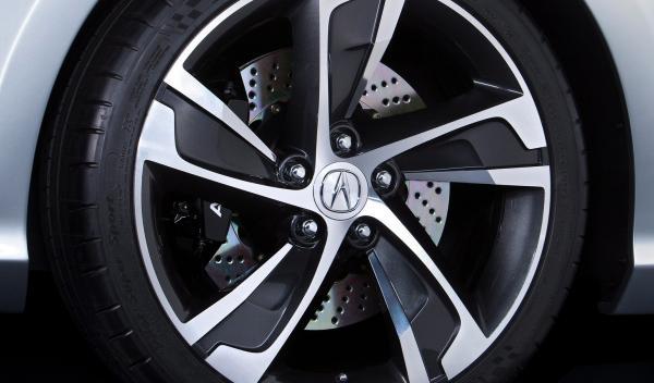 Acura ILX concept llanta - Salón de Detroit 2012