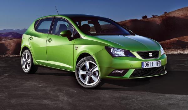 nuevo Seat Ibiza 2012 cinco puertas frontal