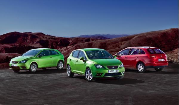nuevo Seat Ibiza 2012 toda la gama