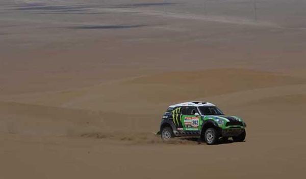 Dakar 2012 decima etapa peterhansel